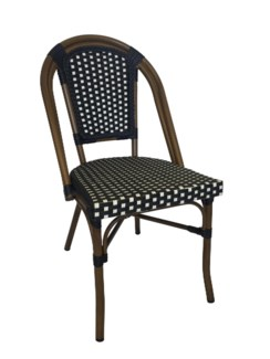 Original Black & White Café Bistro Chair