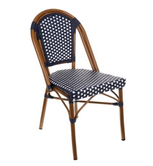 Original Navy & White Café Bistro Chair