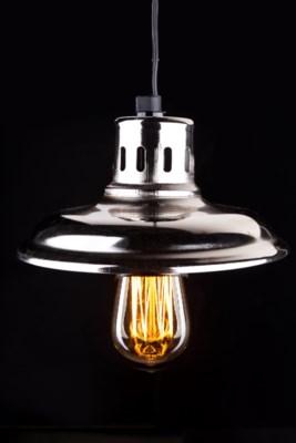 Galvanized Lantern with 2125 bulb