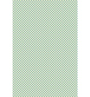 Elegant Cross Design- Size Rug: 4ft x 6ft teal & white colors