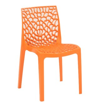 Orange Commercial Grade Chair