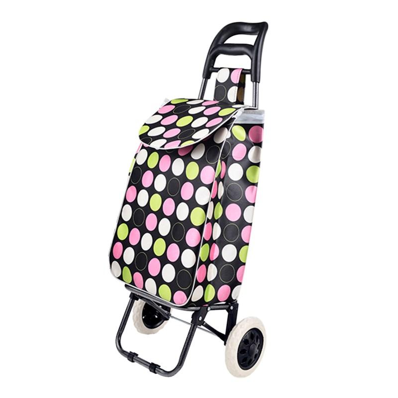 Heavy Duty  Shopping Trolley (10) 2 Styles Assorted