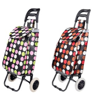 Heavy Duty  Shopping Trolley (10) 2 Styles Assorted