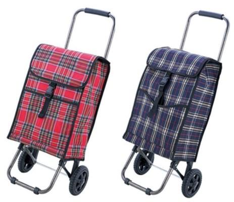 Medium Fabric Shopping Cart (6) 2 Styles Assorted