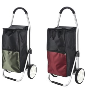 Heavy Duty Aluminum Shopping Trolley (6)