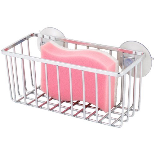 Chrome Suction Mount Sink Caddy (24)