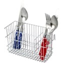 Chrome Cutlery Holder (24)
