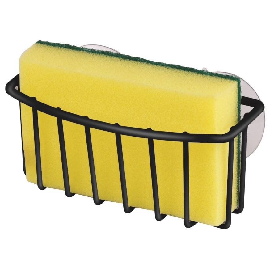 Black - Suction Sponge Holder (24)
