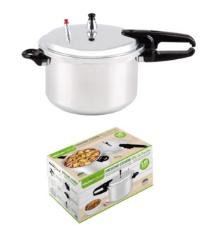 9L Aluminum Pressure Cooker without Steamer(4)