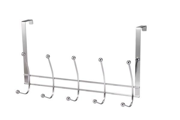 Chrome Over-the-Door Double 6 Hook (24)