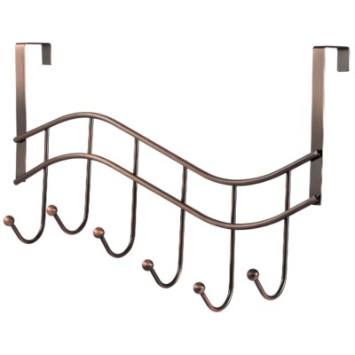 Bronze Plated Over-the-Door Rack (24)