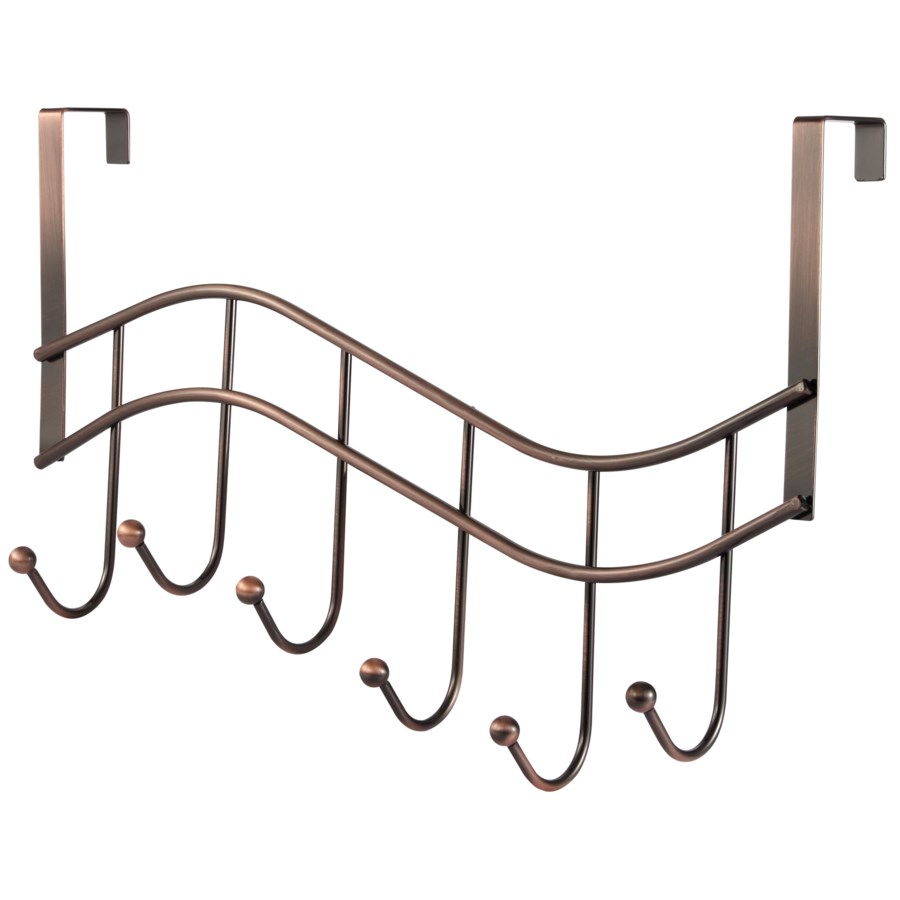 Oiled Rubbed Bronze Plated Over-the-Door Rack (24)