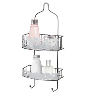 Onyx Black - Bubble Design Shower Caddy (12)