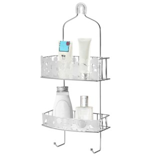 Chrome - Bubble Design Shower Caddy (12)