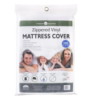 PVC Mattress Cover with Zipper-King (24)