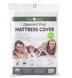 PVC Mattress Cover with Zipper-Queen (24)