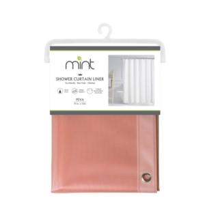 4.4 Gauge Blush Diamond Design PEVA Shower Curtain Liner (12)