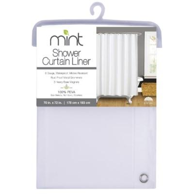 6 Gauge Frost PEVA Shower Curtain Liner(12)