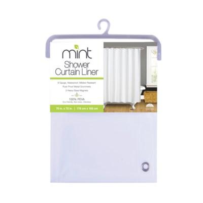 8 Gauge Frost PEVA Shower Curtain Liner(12)