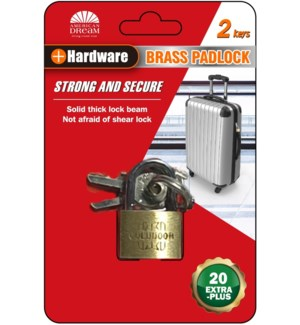 Pad Lock 25/30mm 1 piece (36/144)