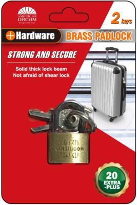 Pad Lock 25/30mm 1 piece (36/144)