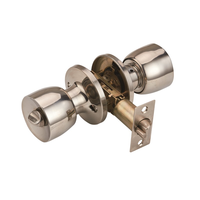 Chrome - Keyed entry Lock (6/24)