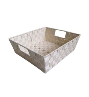 Irvoy- Large Woven Strap Bin (12)