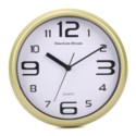 10-inch Wood-Look Wall Clock (10) Color Assorted