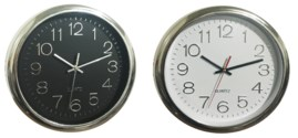 12-inch Raised Dial Wall Clock (10) Color Assorted