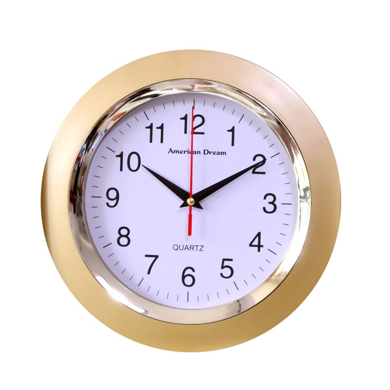10-inch Silent Wall Clock ASS (12) Color Assorted