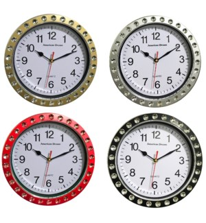 9' Diamond Wall clock ( 12 )