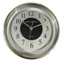 9-inch round clear Wall Clock  (10) Color Assorted