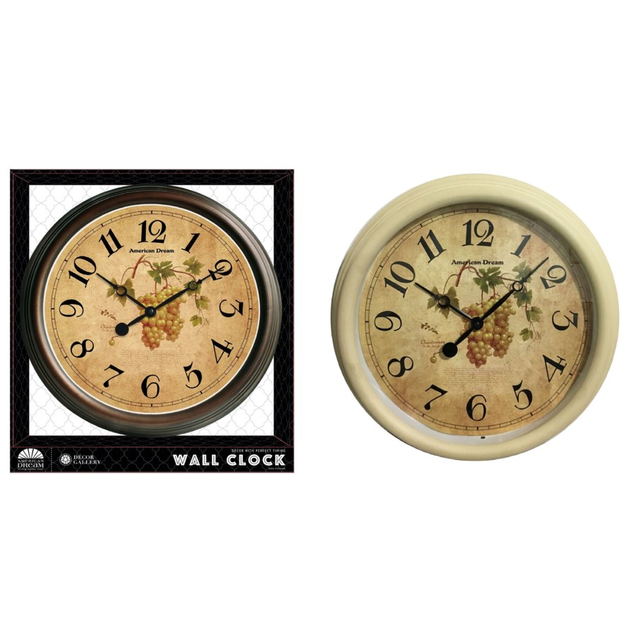 No Ticking - 15-inch Antique Wall clock ( 6 )