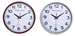 15-inch Contenporary Wall clock  (6) Assorted