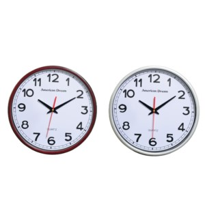 "15"" Contemporary Wall clock (6)"