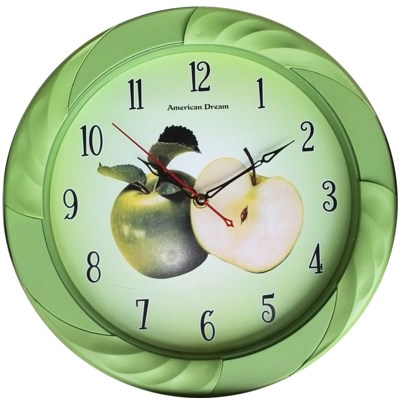 13-inch Round Wall clock ( 10 ) Assorted