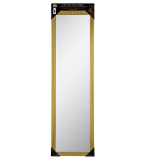 "48"" Gold Over the Door Mirror ( 6 )"