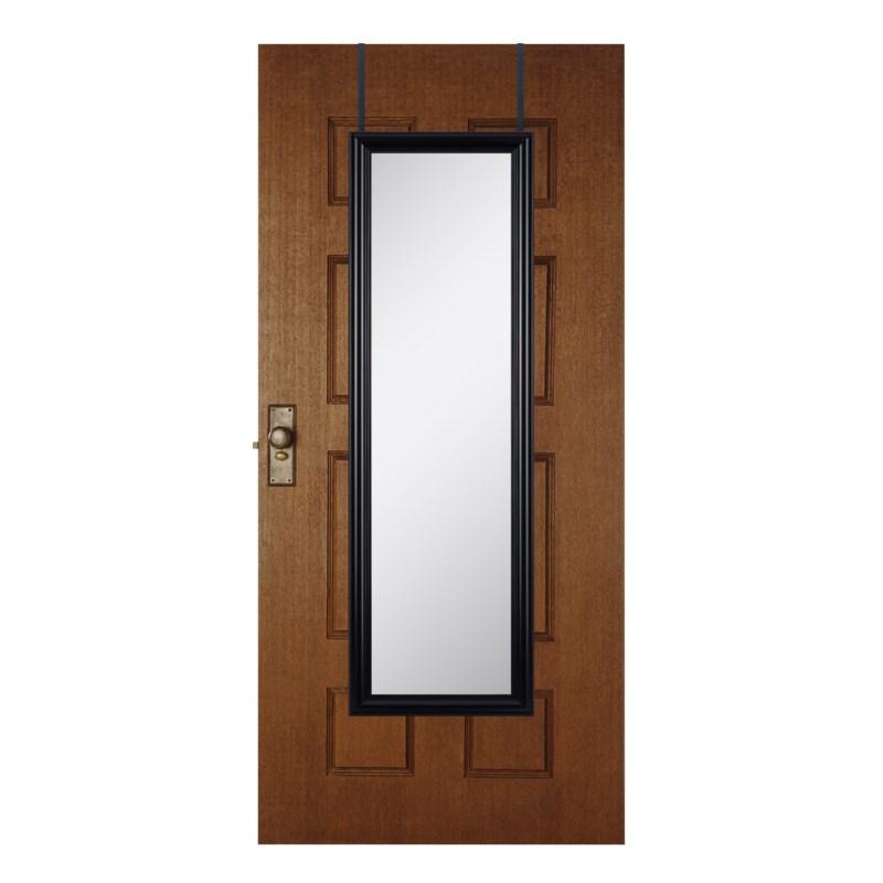 48-inch Black Over the door  Mirror ( 6 )