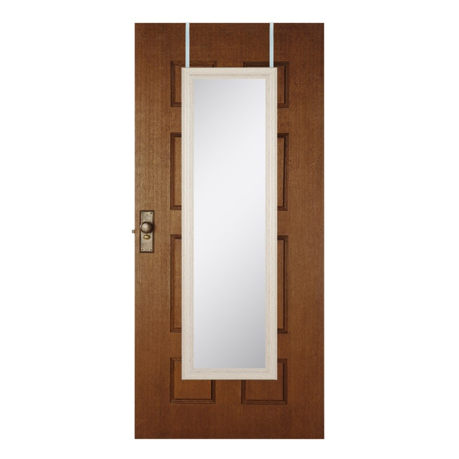 48-inch White Over the door  Mirror ( 6 )