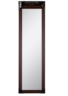 48-inch Chestnut Over the door  Mirror ( 6 )