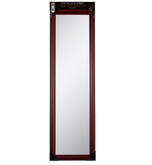 48-inch Mahogany Over the door  Mirror ( 6 )