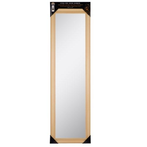 48-inch Natural Over the door  Mirror ( 6 )