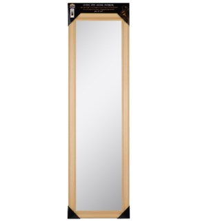 48-inch Natural Over the door  Mirror ( 6 )