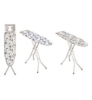 """36""""x12"""" Metal top ironing board with metal plate iron rest (6)"""