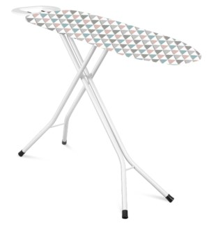 "47""x15"" Metal top ironing board with metal plate iron rest, H leg (2)"