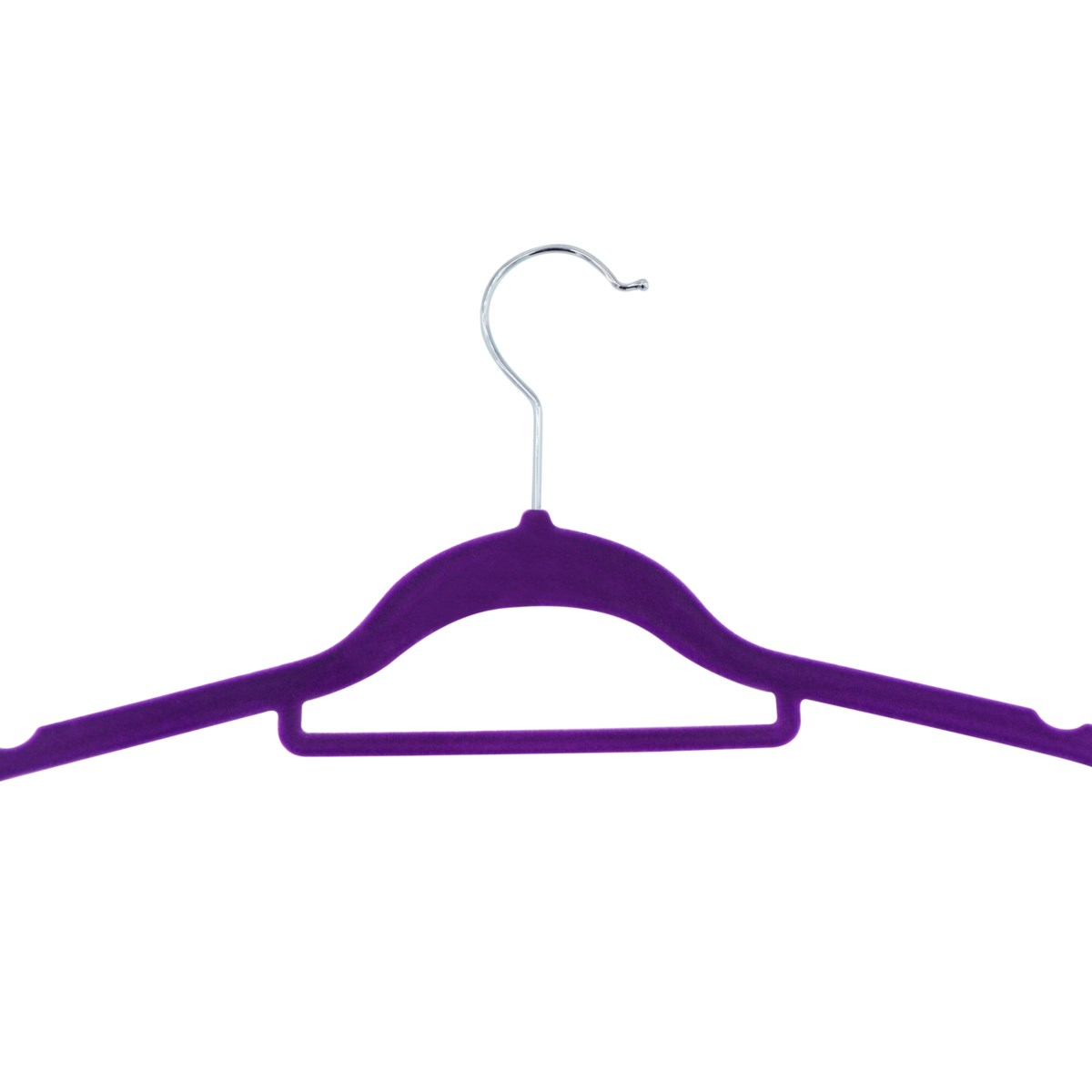 10PC Purple Velvet Suit Hanger ( 12 Set )