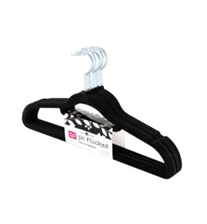 10PC Black Velvet Suit Hanger ( 12 Set )