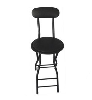 "Cushioned 28"" Tall Stool with Back (4)"