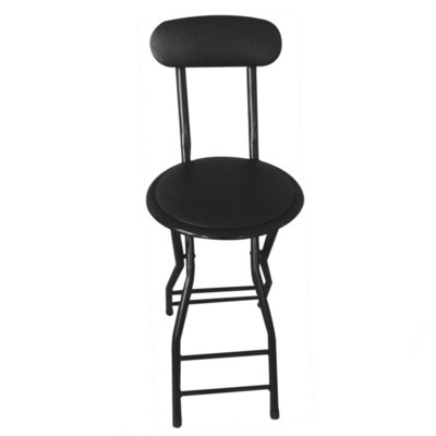 inCushion 28 in in tall Stool with back (4) in