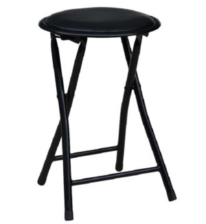 Black - Folding Stool without Back (10)